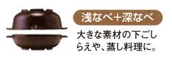 浅鍋+深鍋
